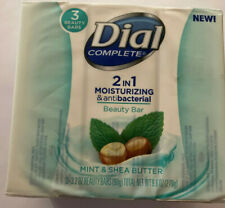One 3 - Bar Pack Dial Mint and Shea Butter Beauty Soap Bars