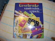 """Buch  """" Geschenke wunderschön verpackt  """" mit über 120 Verpackungsideen"""