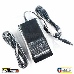 Genuine OEM Toshiba PA2450U 45W 15V 3A Laptop AC Power Supply Adapter Charger