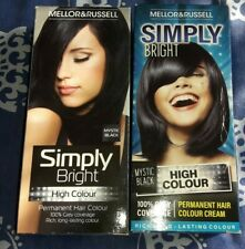 2 X Mellor & Russell Simply Bright Hair Colour Mystic Black