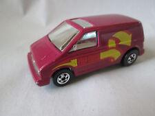 1985 Hot Wheels Flip Outs Maroon Capsider Side Flipper Vaultin Van #2284-2283 HK