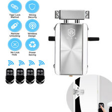 Home Remote Control Door Lock Wireless Electronic Anti-theft Security Keyless