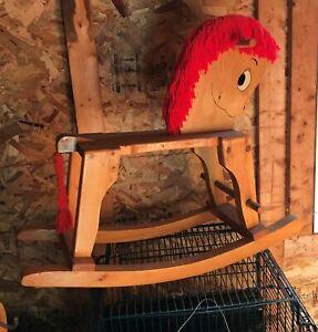 Toddler Rocking Horse Handmade