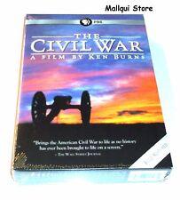 THE CIVIL WAR BY KEN BURNS 25th ANNIVERSARY EDITION DVD (6 DISCS SET) BRAND NEW!