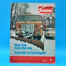 Der Deutsche Straßenverkehr 1/1974 Polski Fiat 125 Jawa 350 Töpelwinkel Prag C