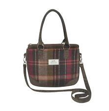 Earth Squared - Saskia Bag - Shoulder/Handbag - Tweed Wool - Pewter - 25x30x6cm