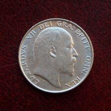 Edward VII 1902 silver shilling
