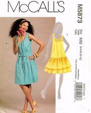 McCall's Misses' Dress Pattern M5873 Size 4-12 UNCUT