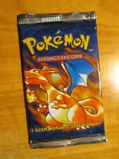 SEALED Pokemon (Unlimited) BASE SET Card (Weighed-Light) BOOSTER PACK Charizard