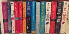 Carly Phillips  lot of 14 contemporary romance paperback novels ~ Body Heat