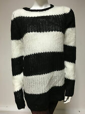Zara Polo Neck Striped Jumpers & Cardigans for Women