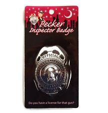 Officiel Pecker Inspector Badge