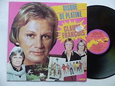 CLAUDE FRANCOIS Disque de platine 67948 Imprimeur SNA