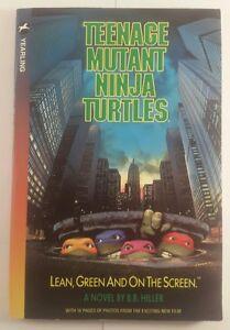 tmnt 1990 book - tmnt book 1990 - TMNT film book 1990
