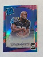 LEONARD FOURNETTE 2017 DONRUSS OPTIC #169 RATED ROOKIE PINK HOLO PRIZM RC Sharp!