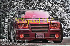 ORACLE Chrysler 300C/SRT8 05-10 RED PLASMA Head/Foglight Halo Angel/Demon Eyes
