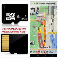 8GB Micro SD Card Car GPS Nav Software Map For Android System North America Maps