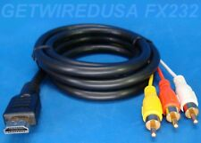 usa seller. RCA HDMI Video AV Composite Adapter Converter CABLE RED YELLOW WHITE