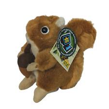 "Wild Republic Talking Red Squirrel Forest Plush Stuffed Animal 2011 5.5"""