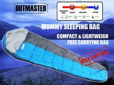 Outdoor Mummy Camping Sleeping Bag Tent Hiking Compact -10°C 220x80cm 300G/M