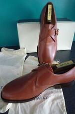 Bally Mens Made In Switzerland Light Brown Size Uk 9 Vintage