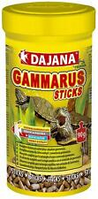Dajana Gammarus Sticks 8.4 Fl Oz, Food for Aquarium Fish, Turtles & Reptiles