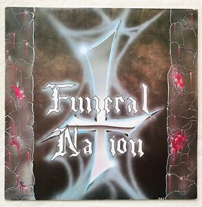FUNERAL NATION reign o death LP 1.Press 1990 Metallica Slayer Sodom Morbid Angel
