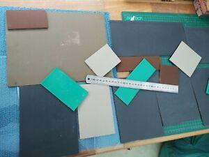 Lino cut sheet pieces, Block Printing, Linoleum  job lot