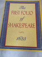 First Folio of Shakespeare 1623 By Doug Moston