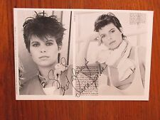 "Dana Sparks (""JAG""/""Falcon Crest""/""Leidenschaften"") signiert 7 3/4"" x 5"" B & W Foto"
