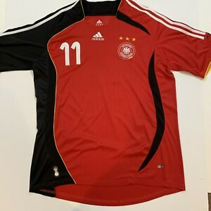 Vintage 2000s ADIDAS Climacool Germany Klose FIFA Soccer / Football Jersey - XL