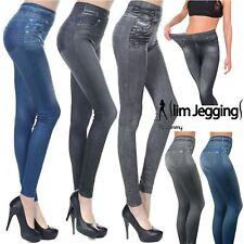 Set of 3 Slim Caresse Jeans Skinny Jeggings Shapewear Slimming Control Size 8-14