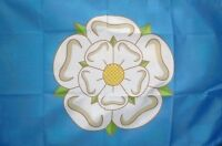 3' x 2' Yorkshire Flag White Rose of York England English County Flags Banner