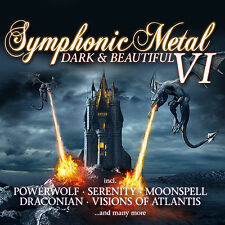 CD Symphonic Metal 6 Dark And Beautiful von Various Artists 2CDs