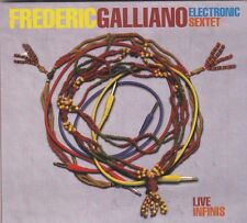FREDERIC GALLIANO - live infinis CD