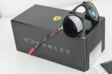 Nuevo OAKLEY MADMAN scudaria Ferrari Negro Iridium polarizadas Gafas de sol OO6019-06