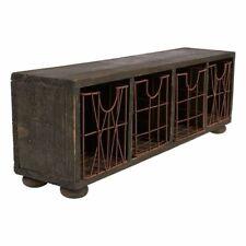 Rustic Wooden Desk Organizer - Vintage Organizer for Your Desktop, 17 x 5.7 x 4