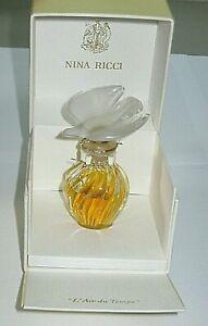 Vintage Nina Ricci L'Air Du Temps Simple Colombe Parfum Bouteille / Boîte 14.8ml