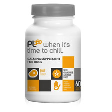 Pl360 When It's Time To Chill Calming Supplement for Dogs, 60 Tablets