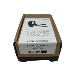 Plantronics (Poly) Voyager 5200 UC Wireless Bluetooth Headset (206110-101) New