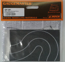N 40mm Wide Self Adhesive Tarmac Curves (2) – Gaugemaster GM391 – free post F1