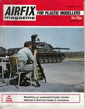 Airfix Magazine, March 1971, Fowler Tractor, Hadrians Wall fort