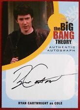 THE BIG BANG THEORY - RYAN CARTWRIGHT as Cole - Seasons 6&7 - Autograph Card RC1