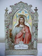 Images pieuses . Lot de 43 images de communion des années 1920 à 1980