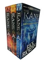 The Kane Chronicles Collection 3 Books Set Pack by Rick Riordan Paperback NEW