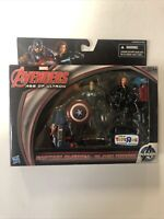 Marvel Age Of Ultron Captain America Black Widow Toys R Us Exclusive 3.75 (2015)