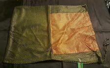 2 Mesh drawstring bags. Morel mushroom, laundry bag, hunting decoy, sports bag