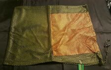 Mesh drawstring bag. Morel mushroom, laundry bag, hunting decoy, sports bag