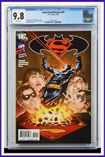 Superman Batman #55 CGC Graded 9.8 DC February 2009 White Pages Comic Book