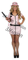 Policewoman Lady Cop Officer WPC Fancy Dress Hen Party Costume  FREE POST (BC)